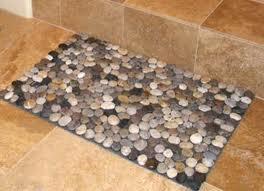 A Pebble Look Bathmat. Custom Made Shower Curtains ...