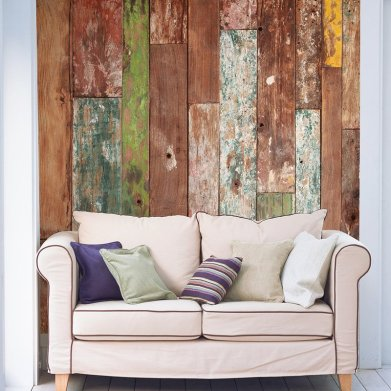 Wall Covering That Mimics Wood Adorn The Abode S Walls