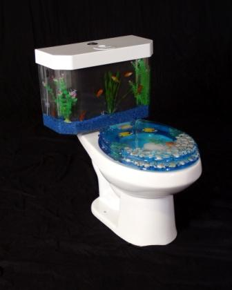 Fishing for bathroom decor inspiration for the abode ...