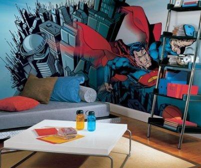 Superhero Wall Murals wall stickers – weberlifedesignspeaks