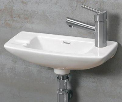 ... WH103 Small Porcelain Wall Mounted Ceramic Bathroom Basin Sink