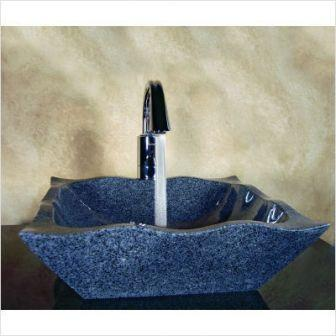 yosemite home decor dawn dawn hand carved wave edge vessel sink - Yosemite Home Decor