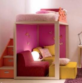 twin bed loft plans