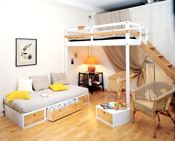 loft bed designs adults