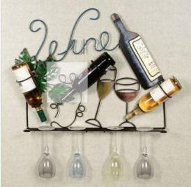 francesca wall wine rack