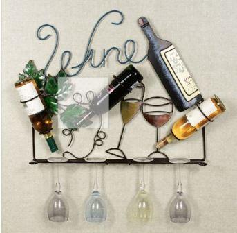 wine glass rack wood plans