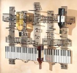 musical_wine_rack, coolclockshop