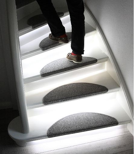 Interactive Furniture Has Developed The Automatic LED Stair Light. Led3