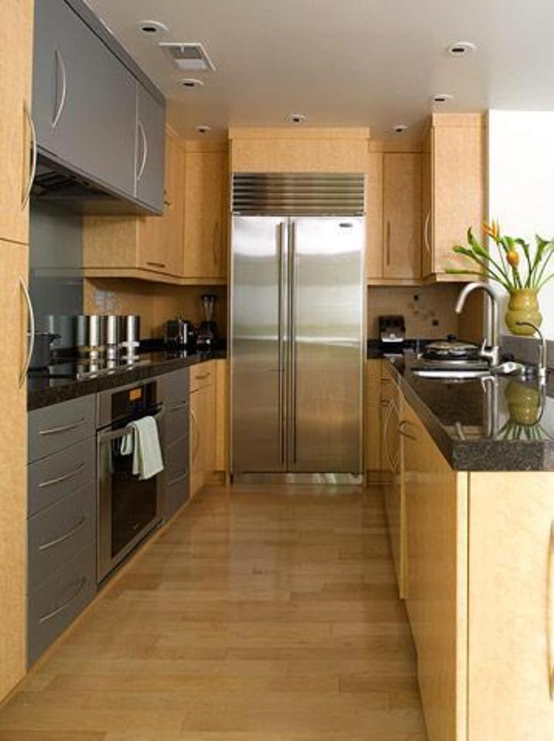 Galley style kitchen design ideas for the abode ... on