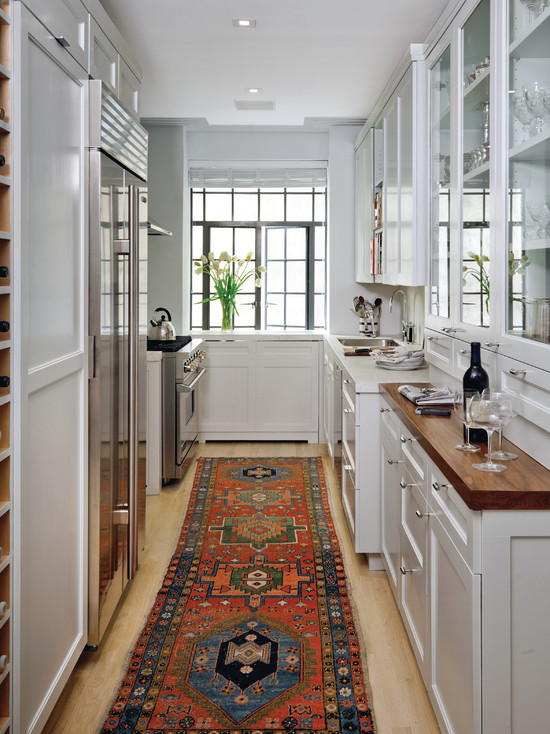 Galley Style Kitchen ...