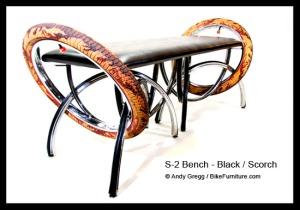 bench s2black020w