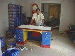 Eric Harshbarger built desk
