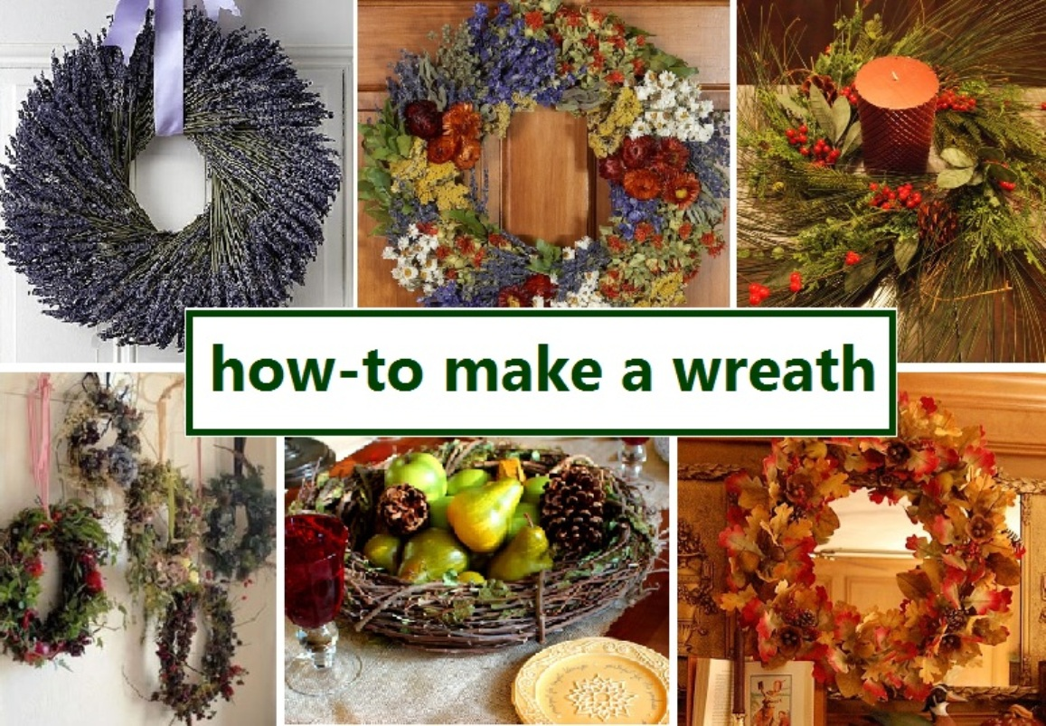How To Make Wreaths To Decorate The Abode For The Fall And