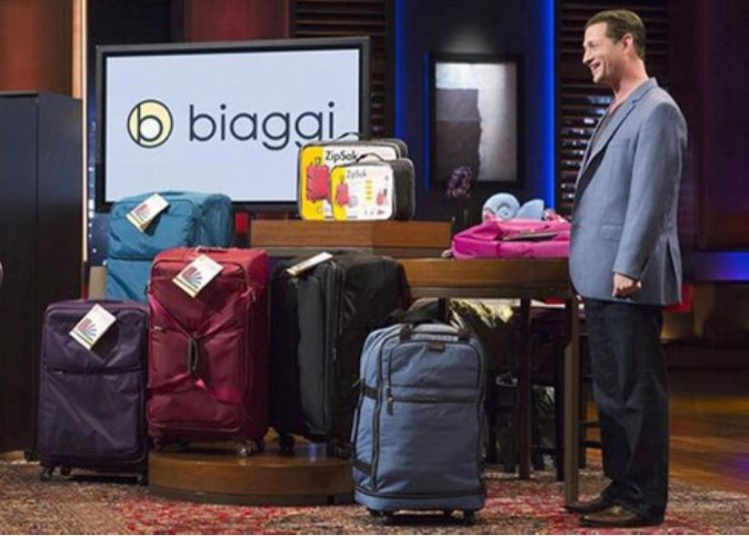 "Stephen Hersh, inventor of the Biaggi ZipSak, may have been born to sell bags but who knew those bags would lead him to jumping into a tank filled with sharks. Since his fateful appearance on the show ""Shark Tank,"" Hersh's luggage company Biaggi has certainly made a splash so big that Hersh was featured on ""Beyond the Tank."""