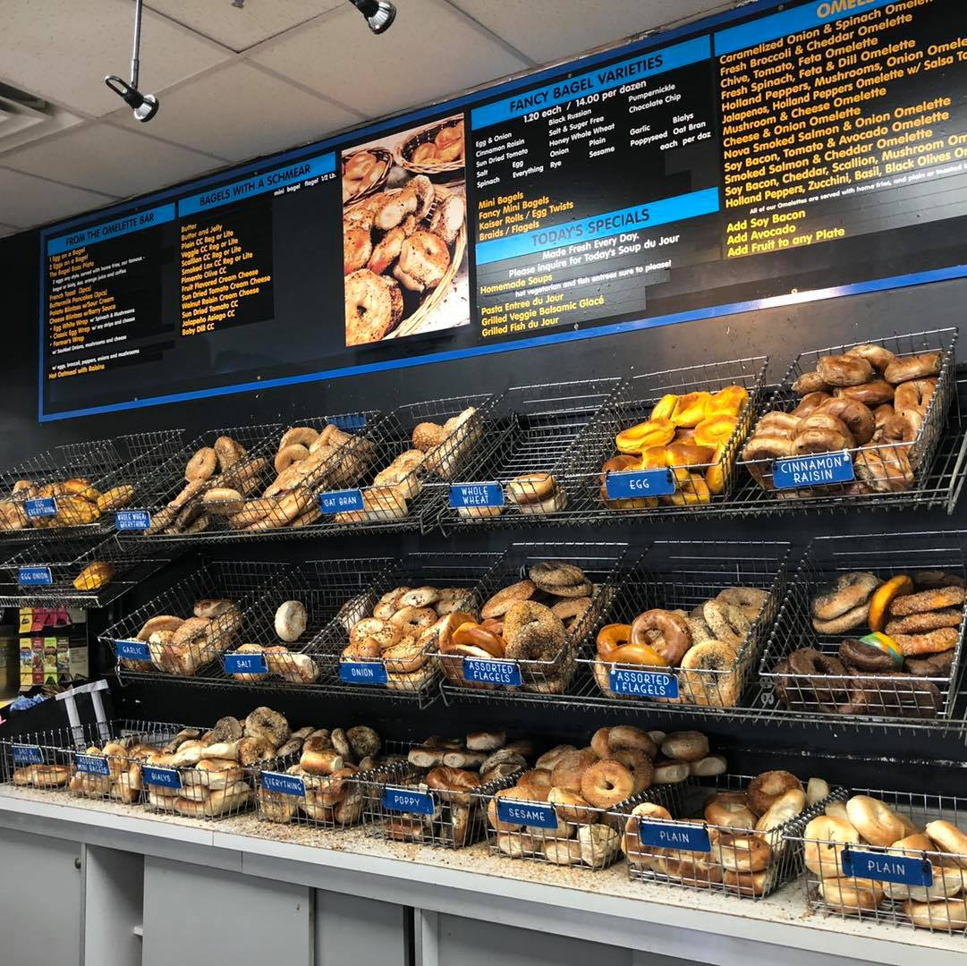 Five Best Bagel Places on Long Island